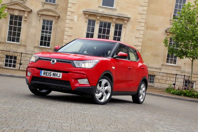 First drive: SsangYong Tivoli. Image by SsangYong.