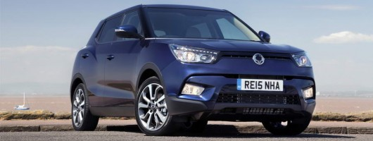 SsangYong Tivoli goes 4x4. Image by SsangYong.