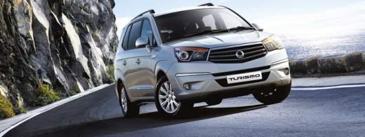 SsangYong Turismo on sale. Image by SsangYong.