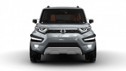 2015 SsangYong XAV Adventure concept. Image by SsangYong.