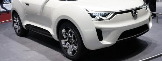 Geneva 2012: Ssangyong XIV-2 concept. Image by Newspress.