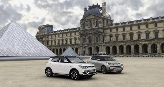SsangYong opens up XIV crossover. Image by SsangYong.