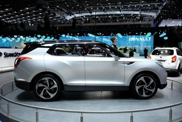 SsangYong previews next model. Image by Newspress.