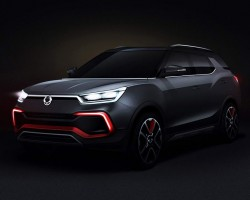 2015 SsangYong XLV Air concept. Image by SsangYong.