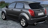 2009 Ssangyong C200 concept. Image by Ssangyong.