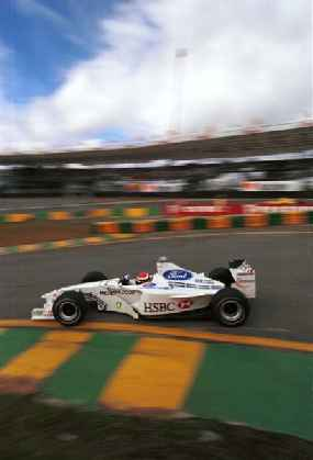 Barrichello drove superbly until his Stewart-Ford gave up the ghost.