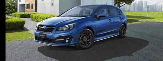 Subaru implants hybrid gear into Impreza. Image by Subaru.