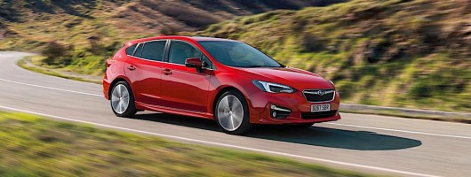 Subaru launches new Impreza at Frankfurt Motor Show. Image by Subaru.