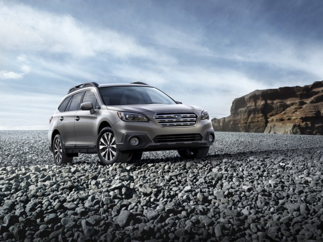 Rugged Outback ventures into action. Image by Subaru.