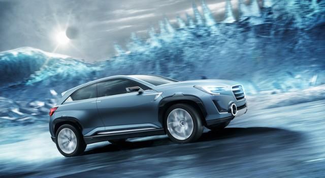 Concept previews Subaru hybrid. Image by Subaru.