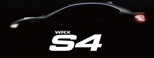 What's a Subaru WRX S4? Image by Subaru.