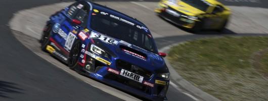 WRX STI to tackle the Ring. Image by Subaru.