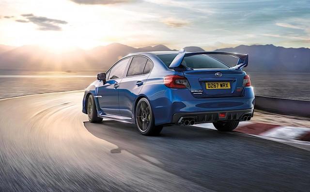 Subaru WRX STI Final Edition. Image by Subaru.
