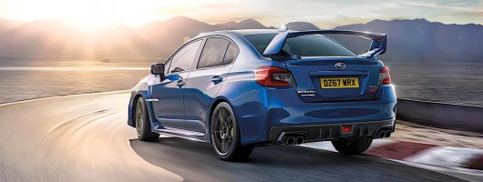 Subaru WRX STI Final Edition. Image by Subaru.