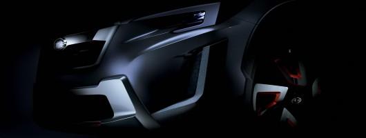 Subaru to show XV concept in Geneva. Image by Subaru.