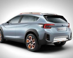 2016 Subaru XV concept. Image by Subaru.