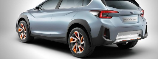 Design direction previewed by Subaru XV Concept. Image by Subaru.