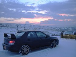 2006 Subaru Impreza WRX STi Type-UK. Image by James Jenkins.