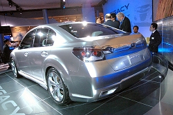 2009 Subaru Legacy concept. Image by United Pictures.