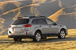 2009 Subaru Outback. Image by Subaru.