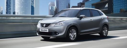 Baleno brings mild hybrid to Suzuki's range. Image by Suzuki.