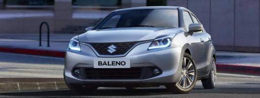 New Suzuki Baleno ready to go. Image by Suzuki.