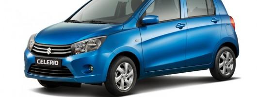 Geneva debut for Suzuki's Celerio. Image by Suzuki.
