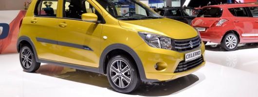 Suzuki's new city car. Image by Newspress.