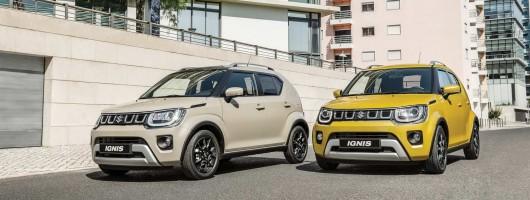 Suzuki Ignis receives facelift. Image by Suzuki.