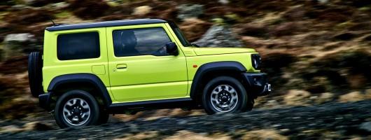First drive: Suzuki Jimny. Image by Suzuki.