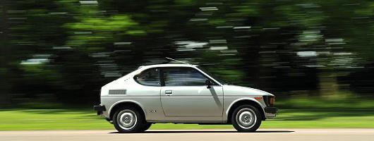 Retro Drive: Suzuki SC100 Whizzkid. Image by Max Earey.