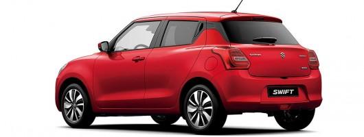 Suzuki brings new Swift to Geneva. Image by Suzuki.