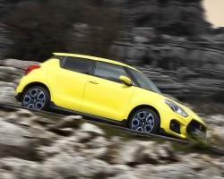 Suzuki Swift Sport driven. Image by Suzuki.