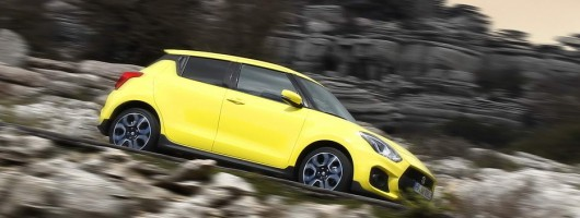 Driven: Suzuki Swift Sport. Image by Suzuki.
