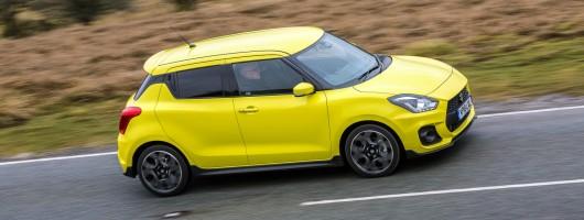 Driven: Suzuki Swift Sport. Image by Suzuki UK.