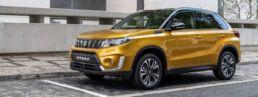 Suzuki shows 2019 Vitara. Image by Suzuki.
