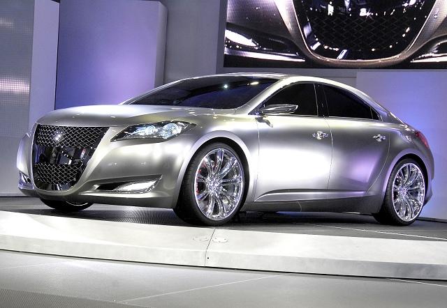 The Car Enthusiast Image Gallery 2008 Suzuki Kizashi 3 Concept