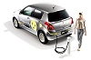 2009 Suzuki Swift plug-in hybrid concept. Image by Suzuki.
