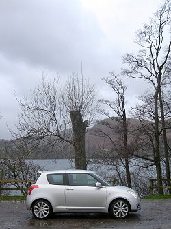 2007 Suzuki Swift Sport. Image by James Jenkins.