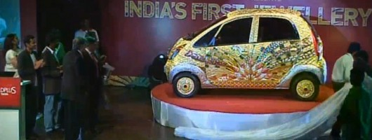 The £3 million Tata Nano. Image by ITN.