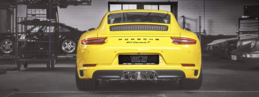 TechArt takes on the 911 Carrera T. Image by TechArt.