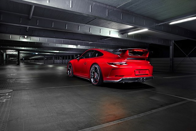 TechArt outlines carbon pack for 911 GT3. Image by TechArt.