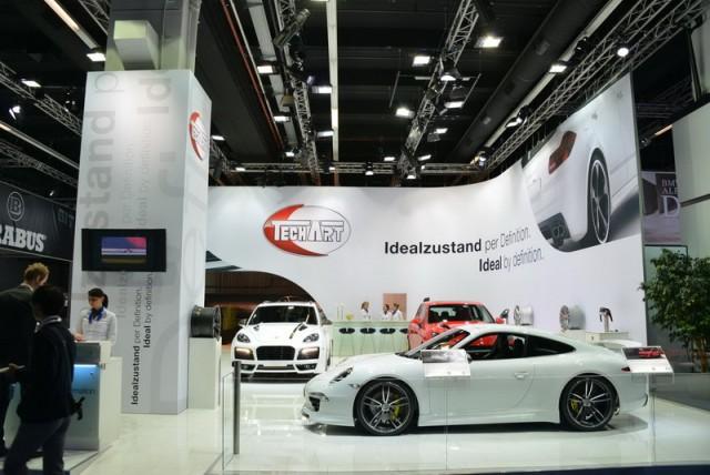 TechArt at Frankfurt. Image by Newspress.