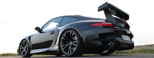 Techart 911 breaks speed record. Image by Techart.