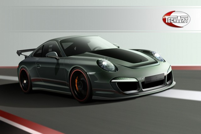 TechArt individualisation package for new 911. Image by TechArt.