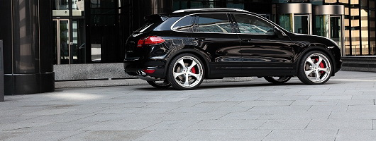 Techart gets its hands on the Cayenne. Image by Techart.