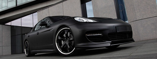 TechArt takes the shine off the Panamera. Image by Techart.