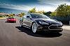 Tesla reveals S sports saloon. Image by Tesla.