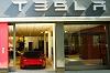 Flagship Tesla showroom opens in London. Image by Tesla.