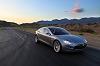 Tesla S on sale in 2012. Image by Tesla.